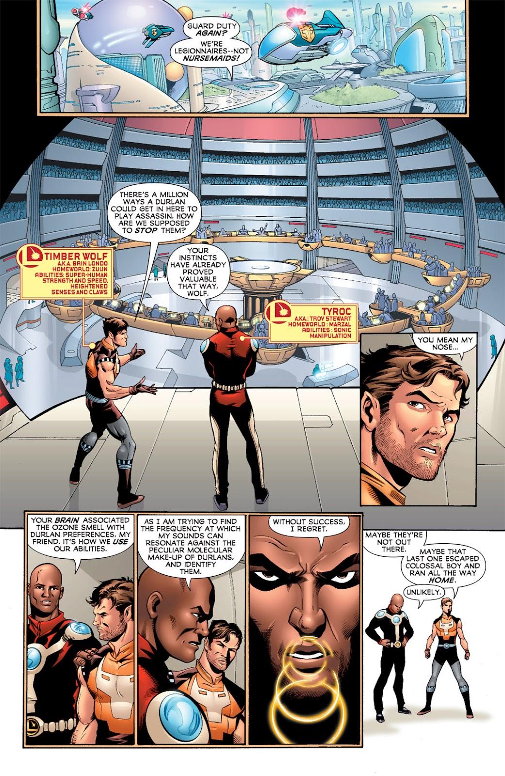 Legion of Super-Heroes (2010) Issue #9 #10 - English 6