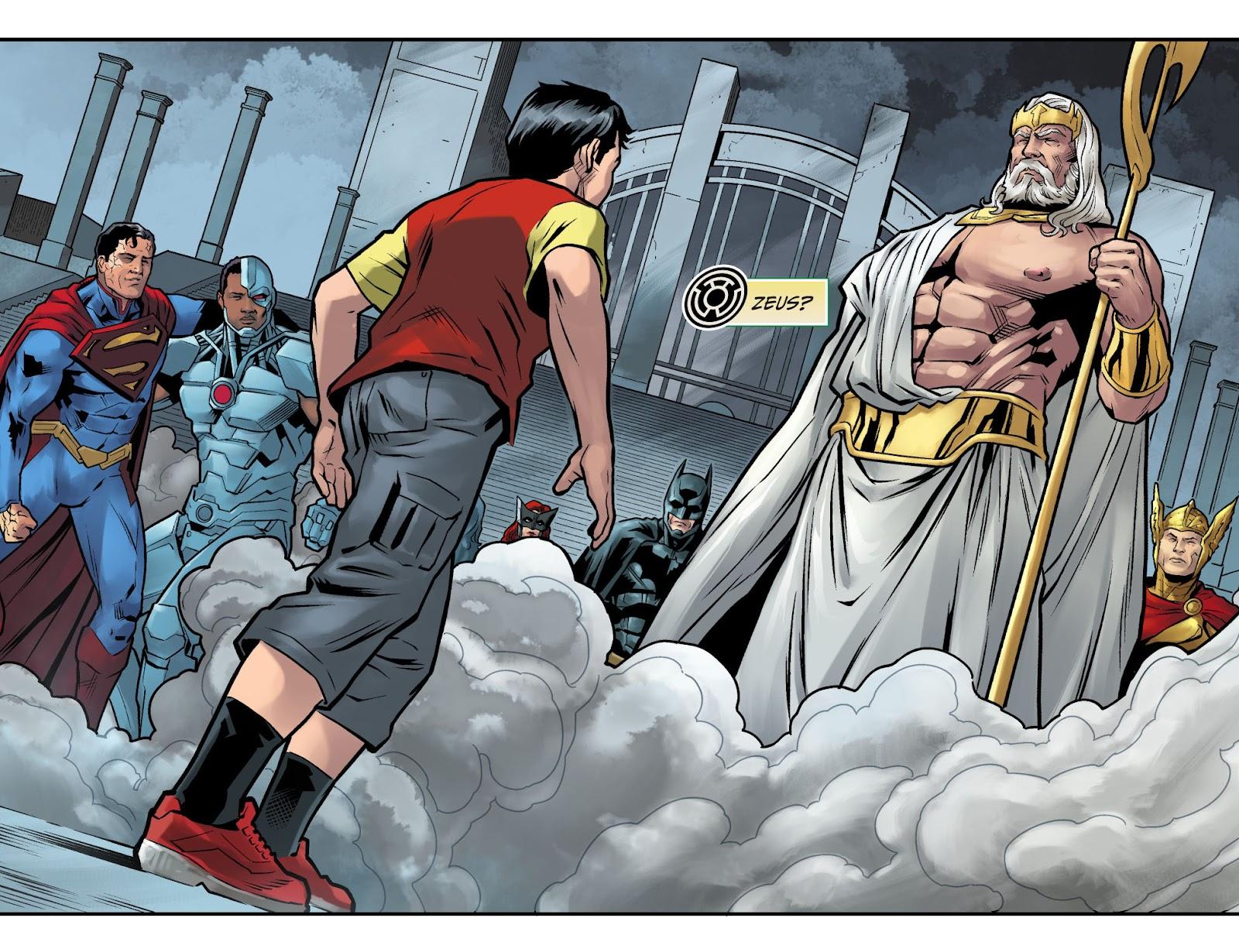 Injustice: Gods Among Us Year Four Issue #15 #16 - English 6
