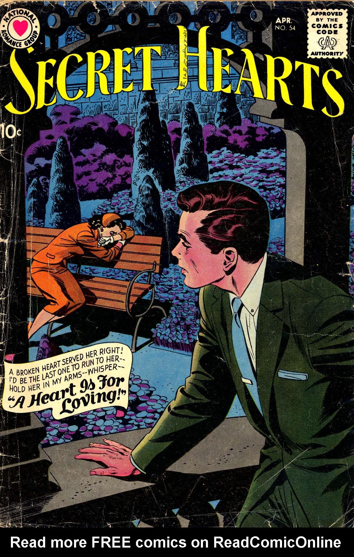 Read online Secret Hearts comic -  Issue #54 - 1