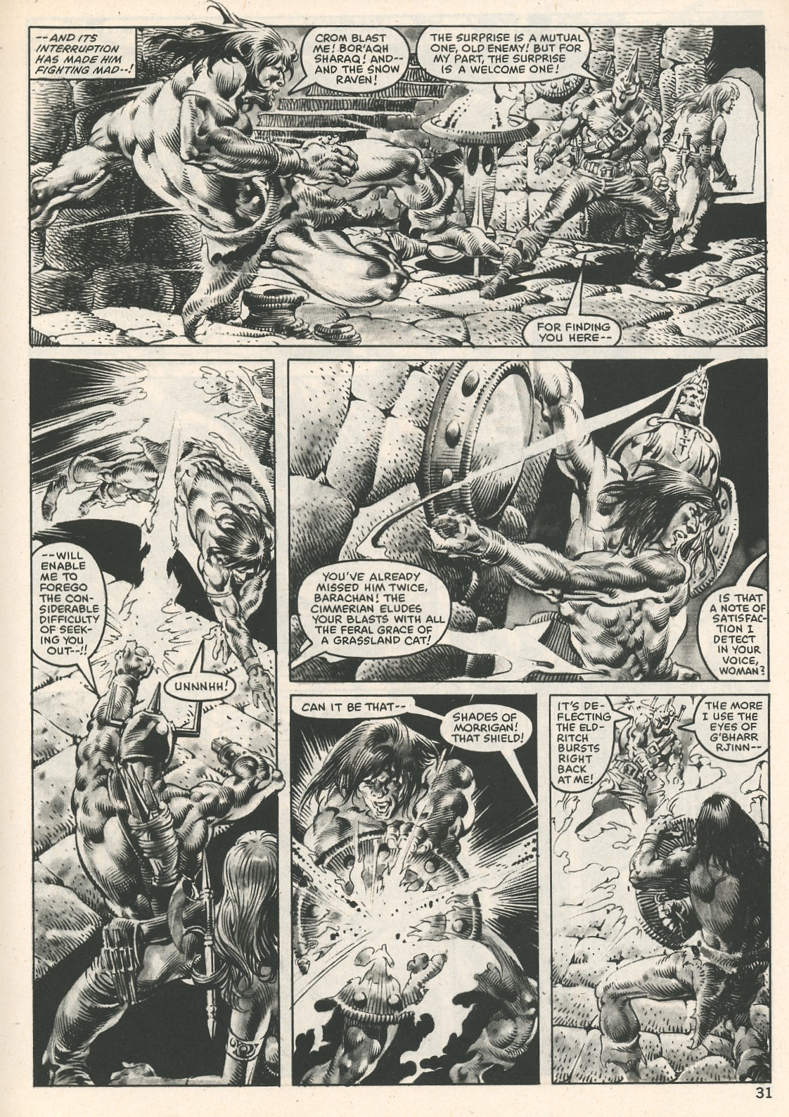 The Savage Sword Of Conan Issue #107 #108 - English 31