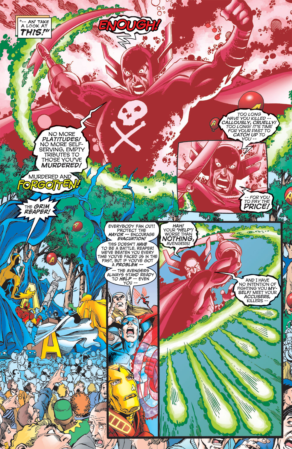 Read online Avengers (1998) comic -  Issue #10 - 16