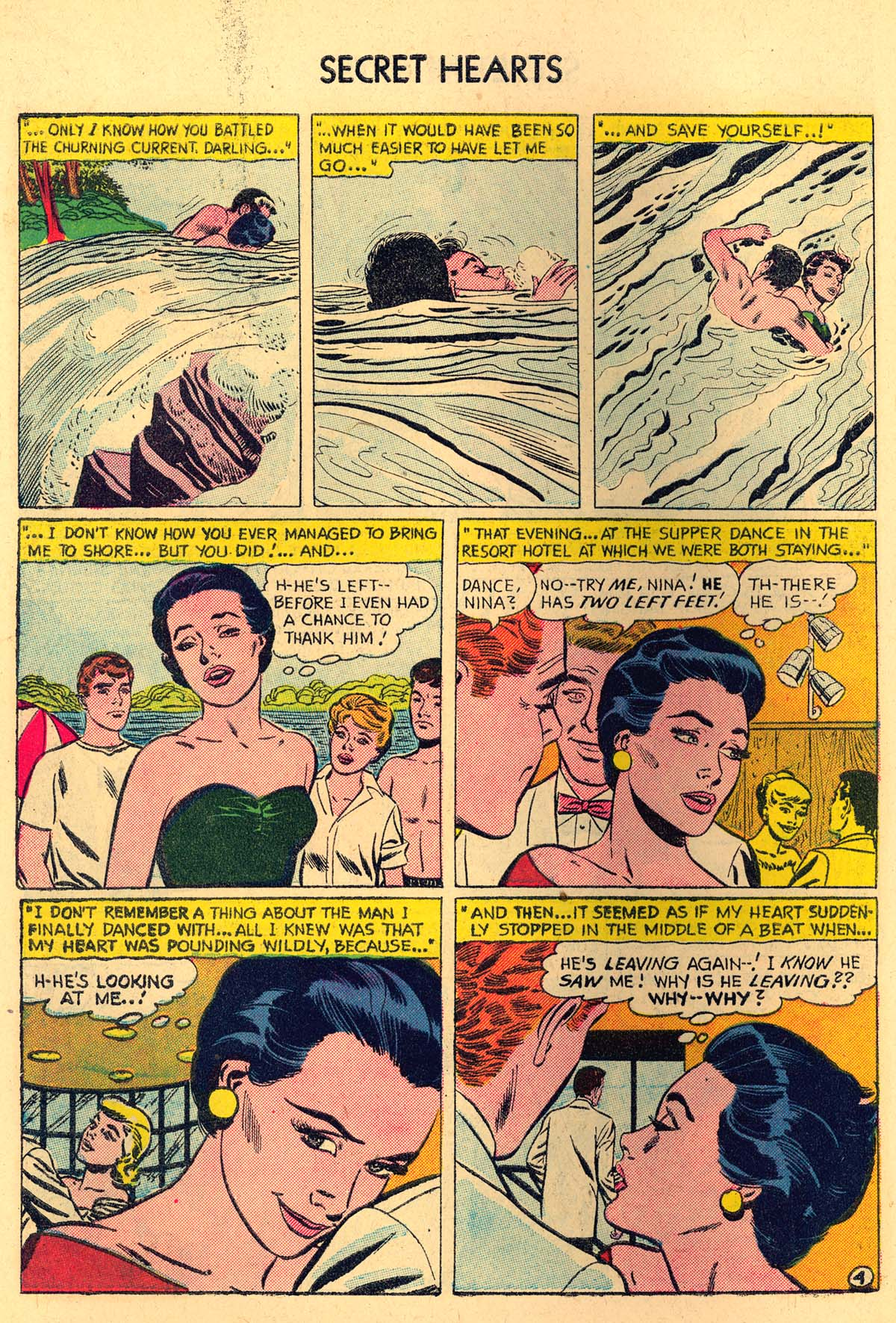 Read online Secret Hearts comic -  Issue #35 - 30