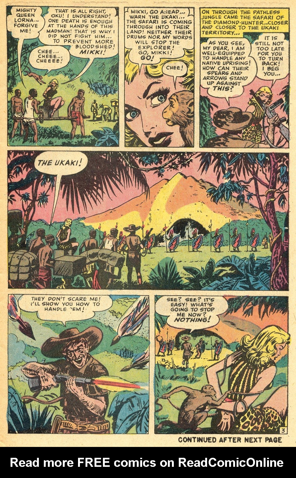 Read online Lorna, The Jungle Queen comic -  Issue #1 - 25