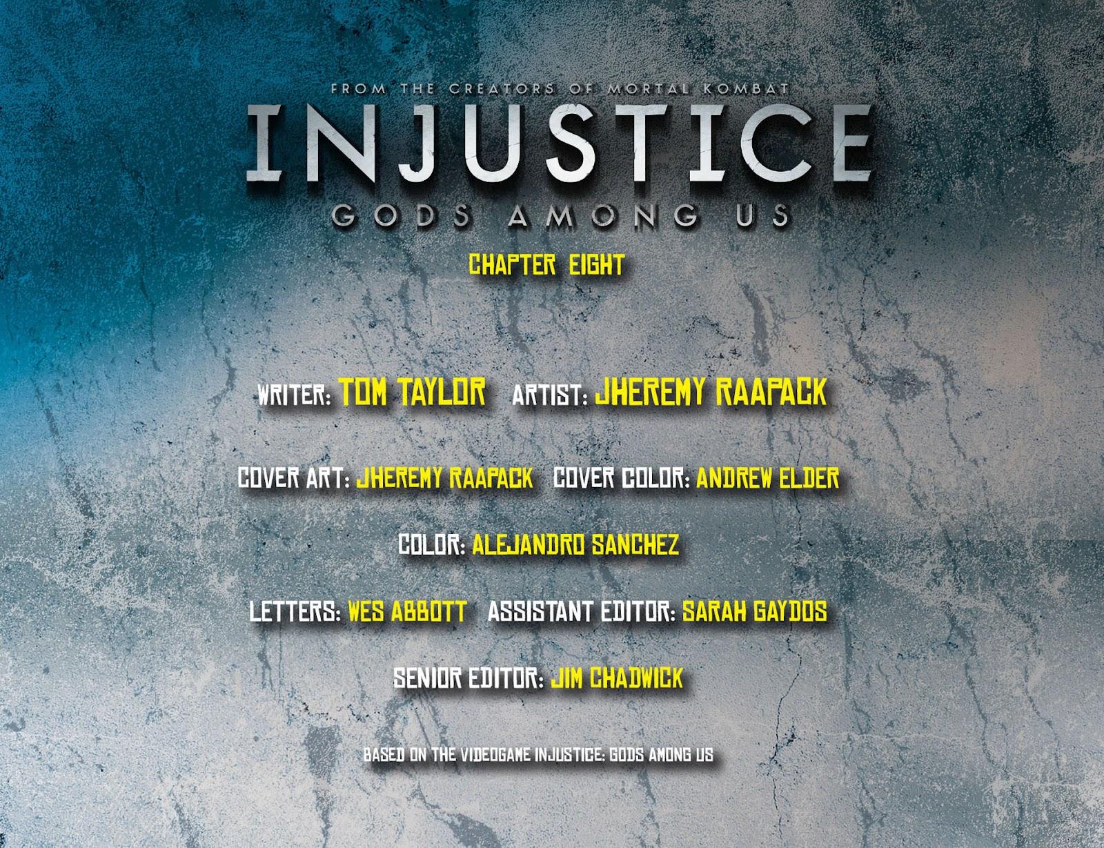 Injustice: Gods Among Us [I] Issue #8 #9 - English 2