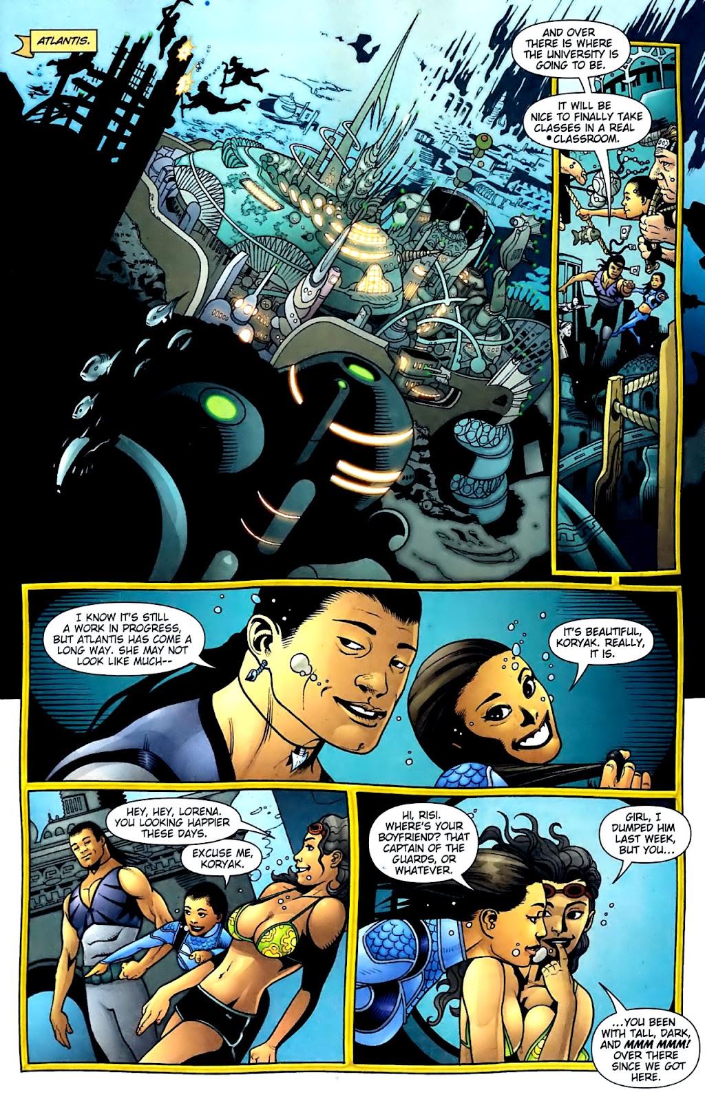 Aquaman (2003) Issue #32 #32 - English 4