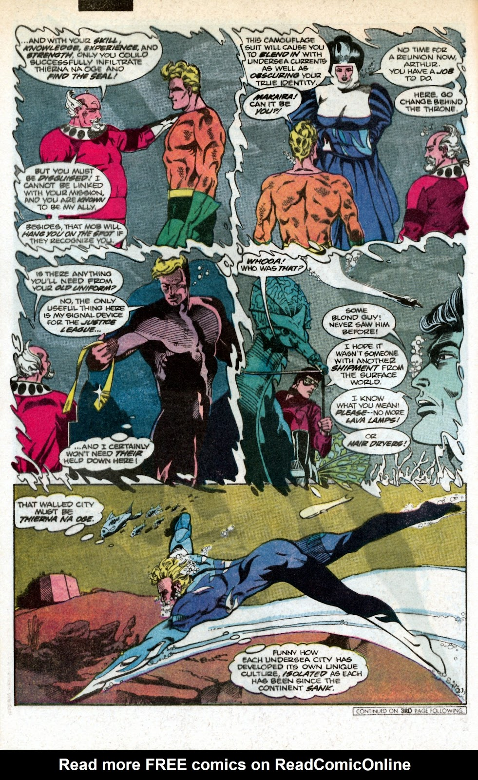 Aquaman (1986) Issue #1 #1 - English 27