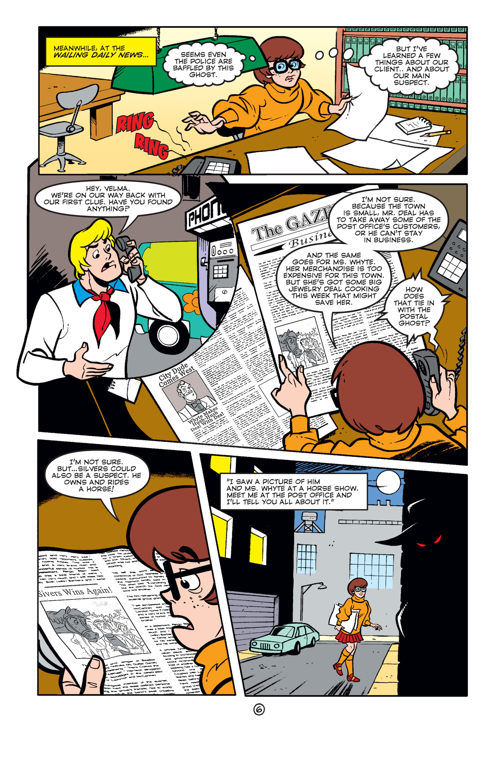 Read online Scooby-Doo (1997) comic -  Issue #58 - 7