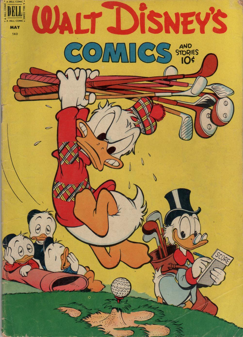 Walt Disneys Comics and Stories 140 Page 1