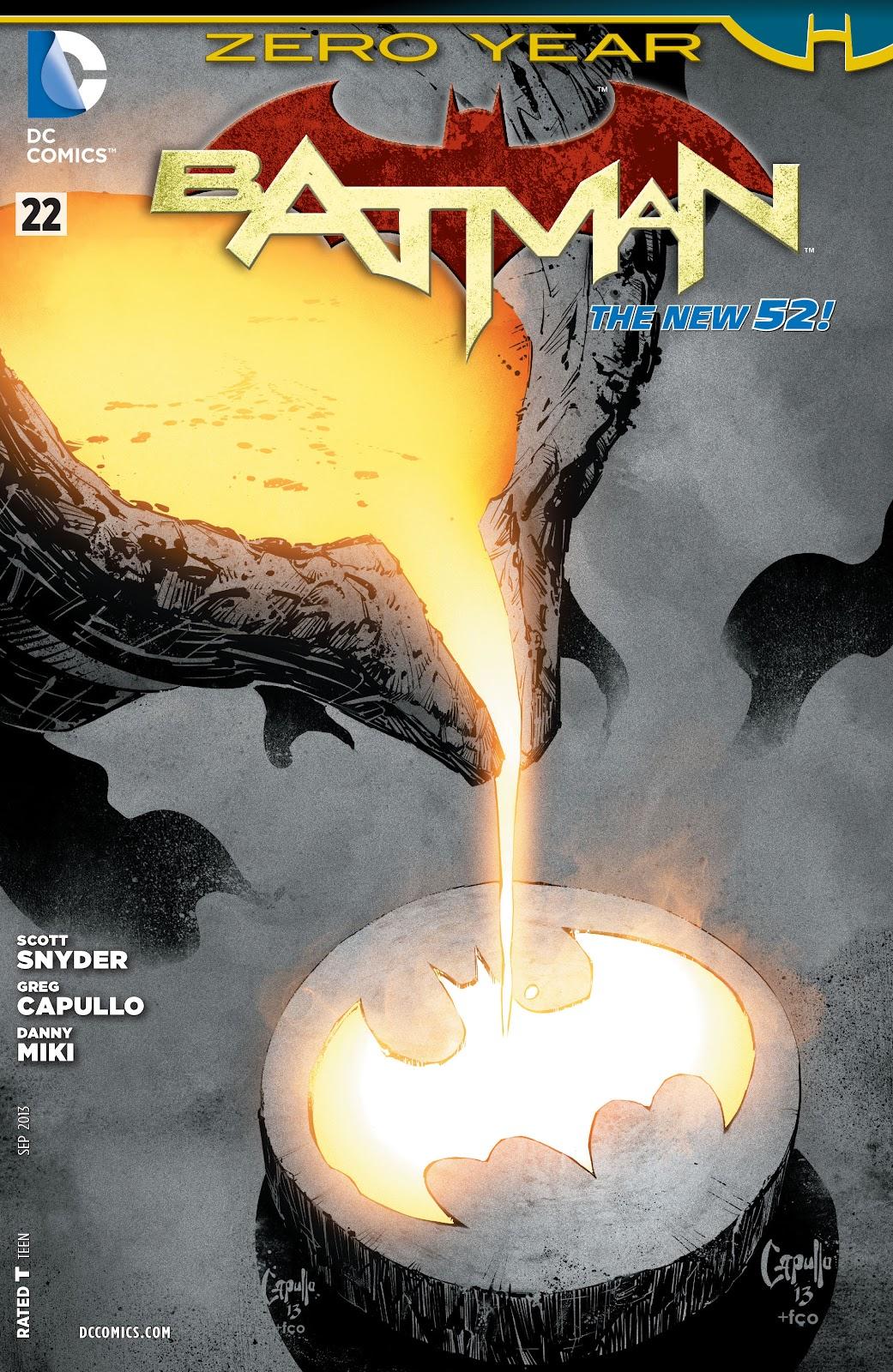 Batman (2011) Issue #22 #37 - English 30
