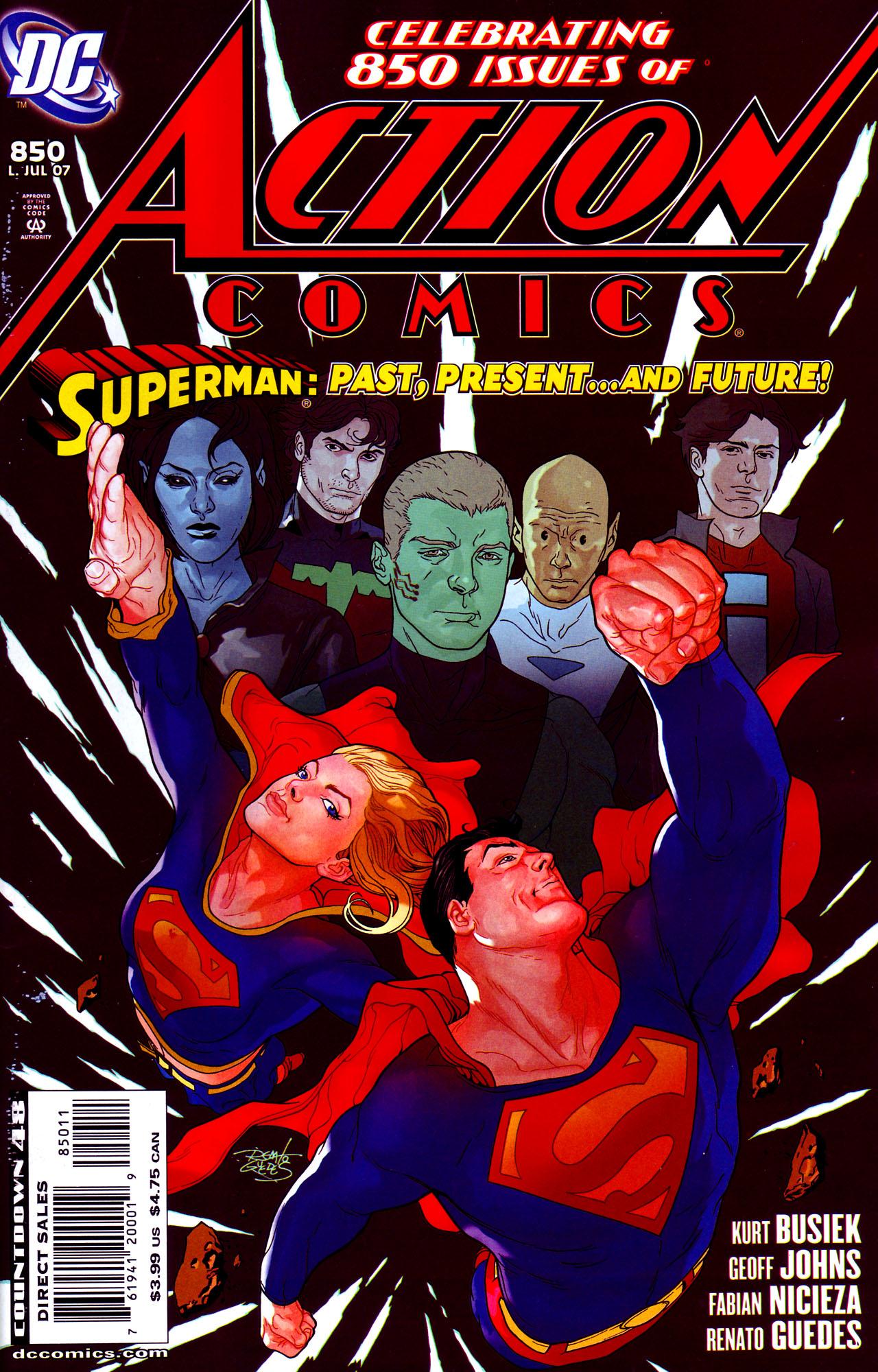 Action Comics (1938) 850 Page 1