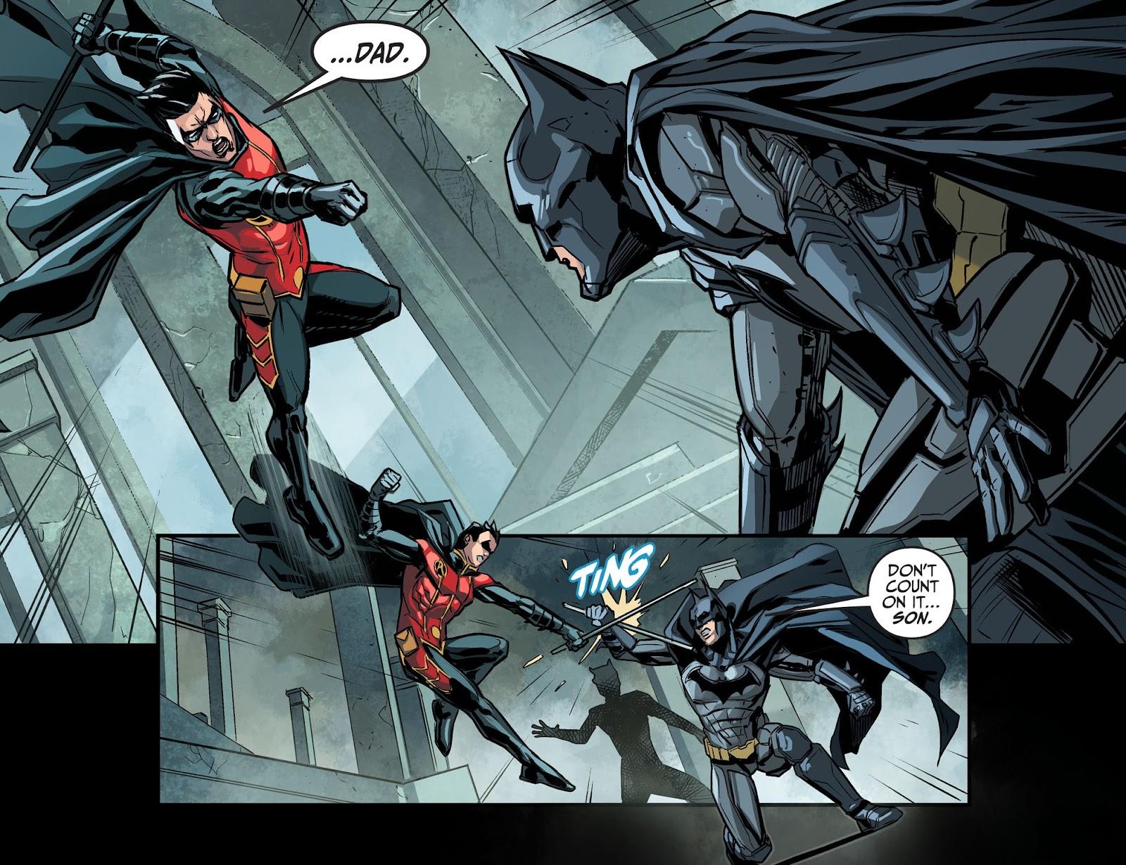 Injustice: Gods Among Us Year Four Issue #14 #15 - English 11