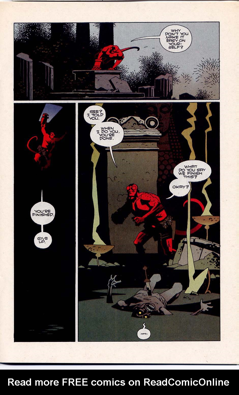Hellboy: Wake the Devil Issue #3 #3 - English 9
