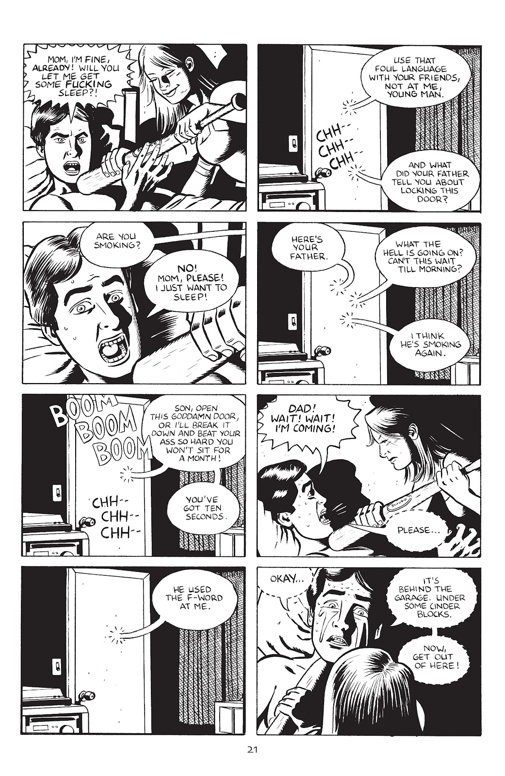 Stray Bullets Issue #30 #30 - English 23