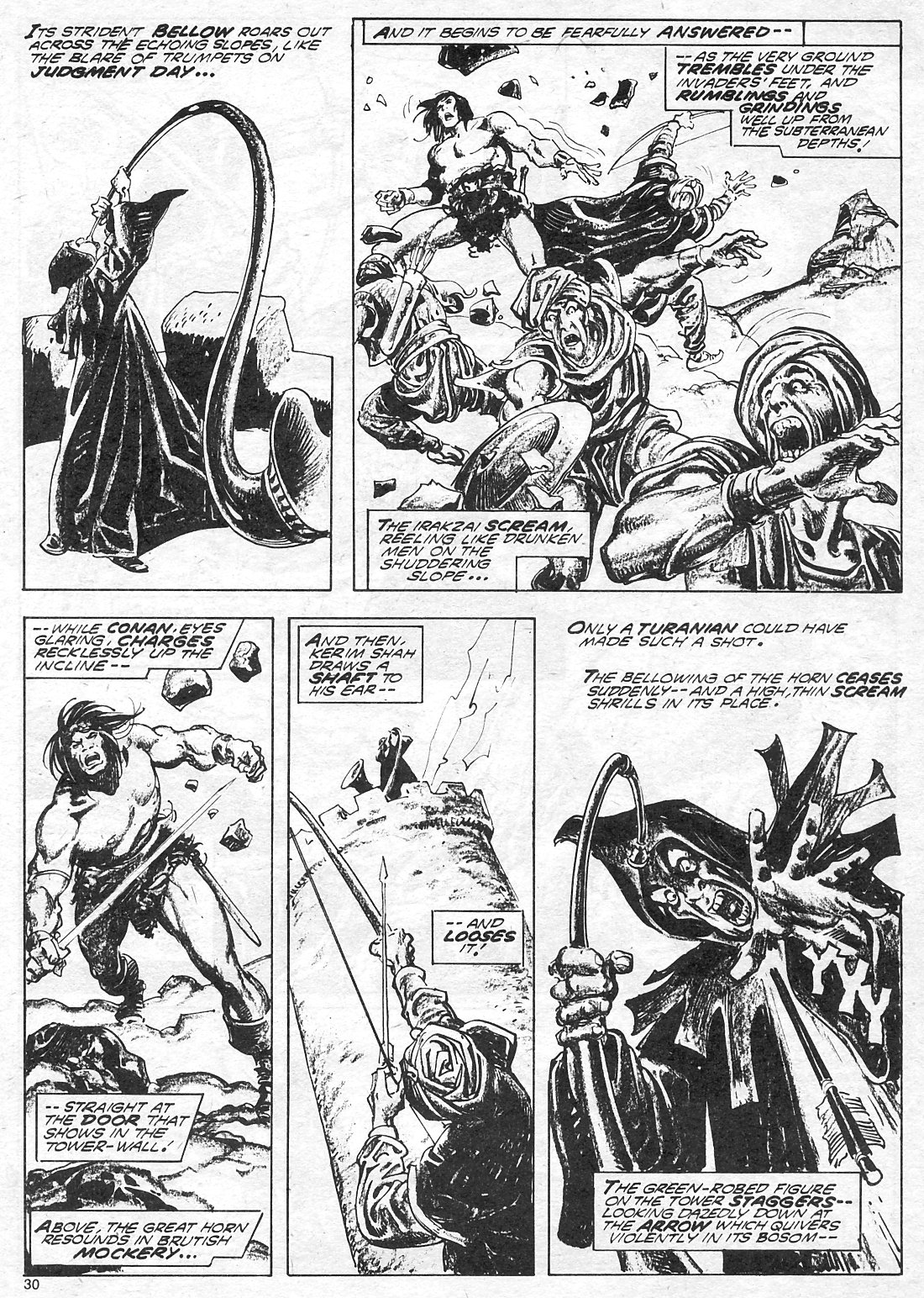 The Savage Sword Of Conan Issue #18 #19 - English 30