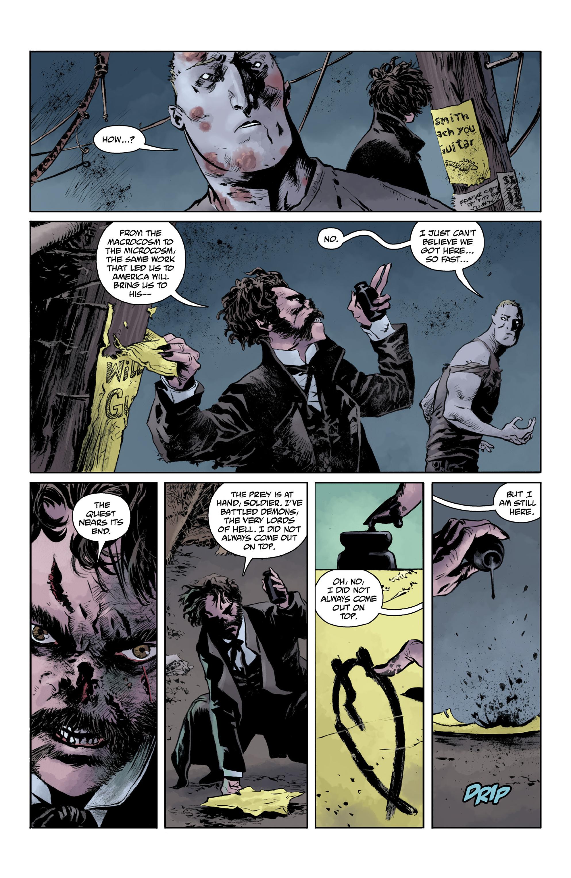 Read online Abe Sapien comic -  Issue #32 - 16