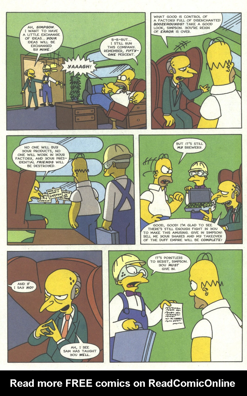Read online Simpsons Comics comic -  Issue #14 - 20