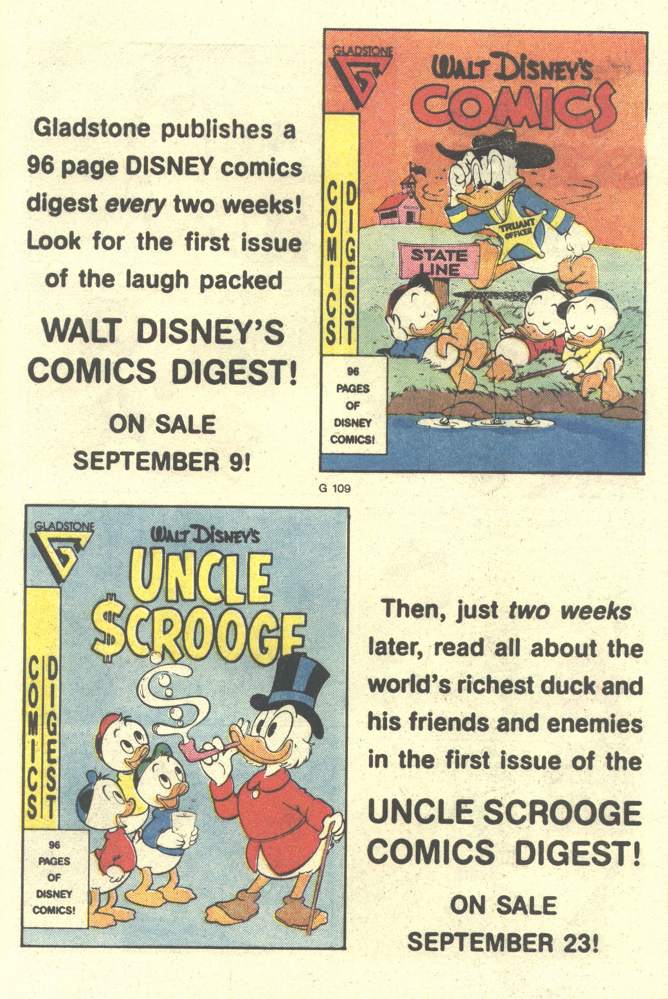 Uncle Scrooge (1953) Issue #212 #212 - English 33