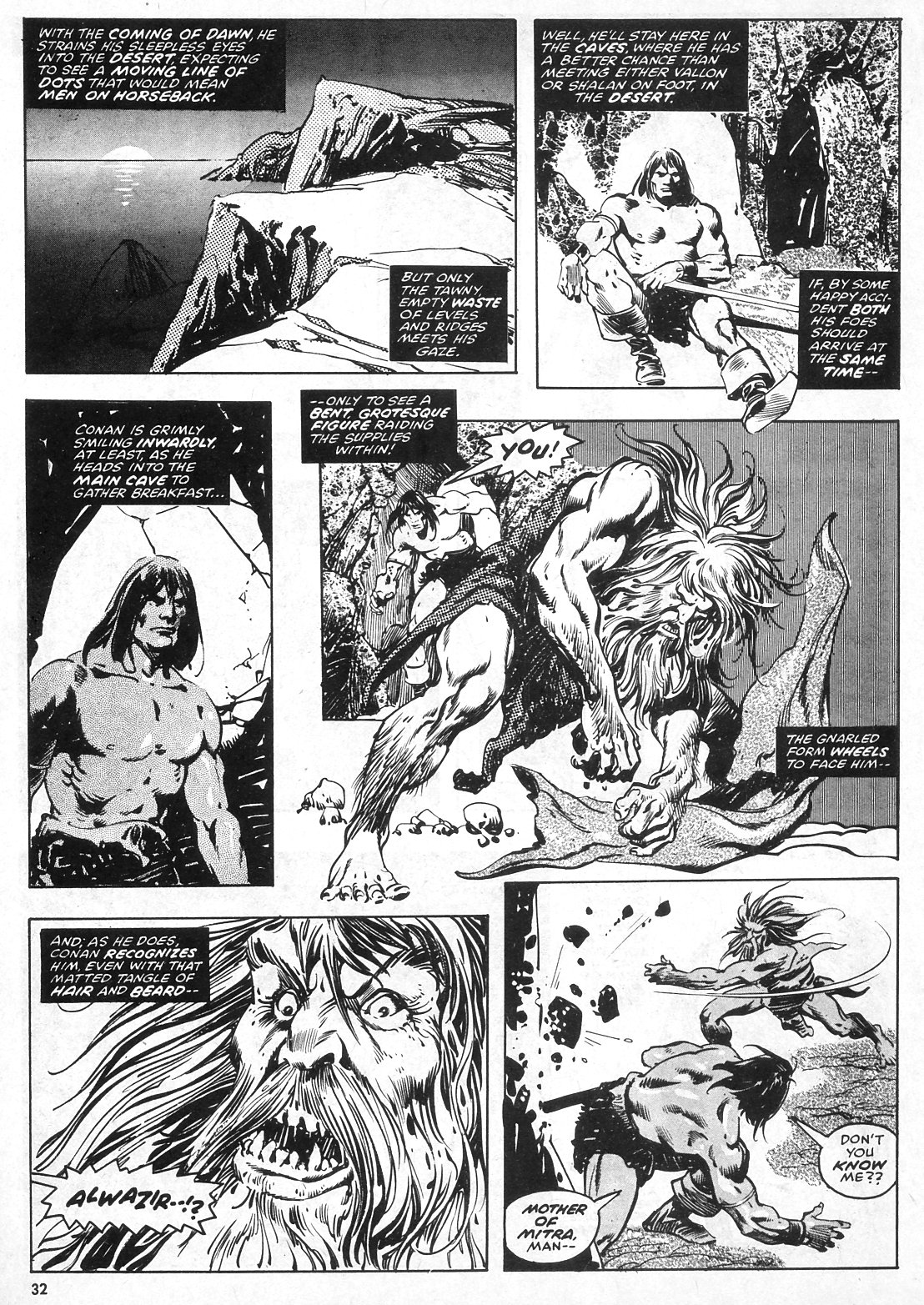 The Savage Sword Of Conan Issue #28 #29 - English 32