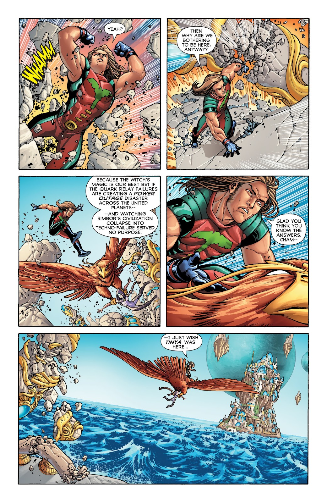 Legion of Super-Heroes (2011) Issue #20 #21 - English 4