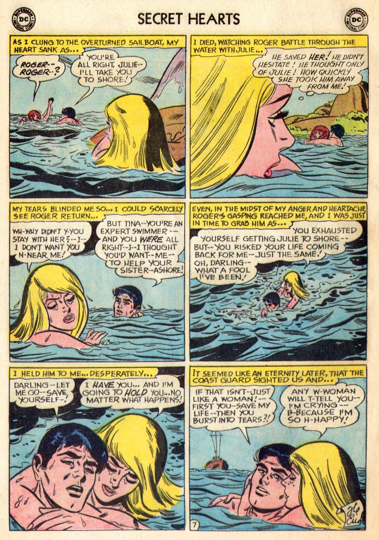 Read online Secret Hearts comic -  Issue #84 - 24