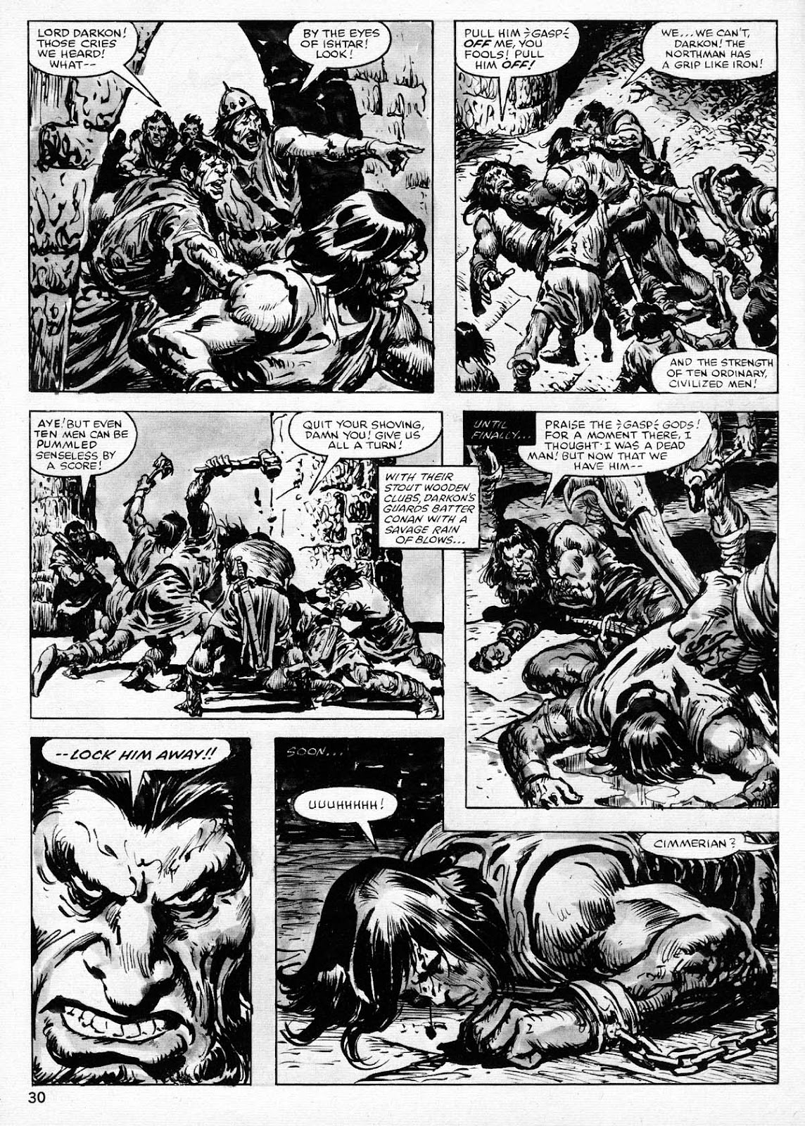The Savage Sword Of Conan Issue #77 #78 - English 30