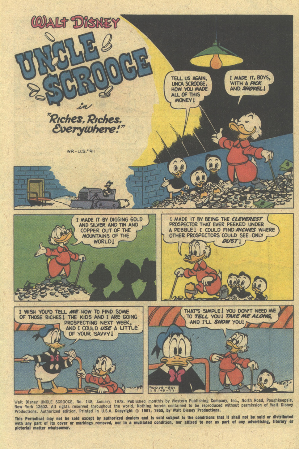 Uncle Scrooge (1953) Issue #148 #148 - English 3