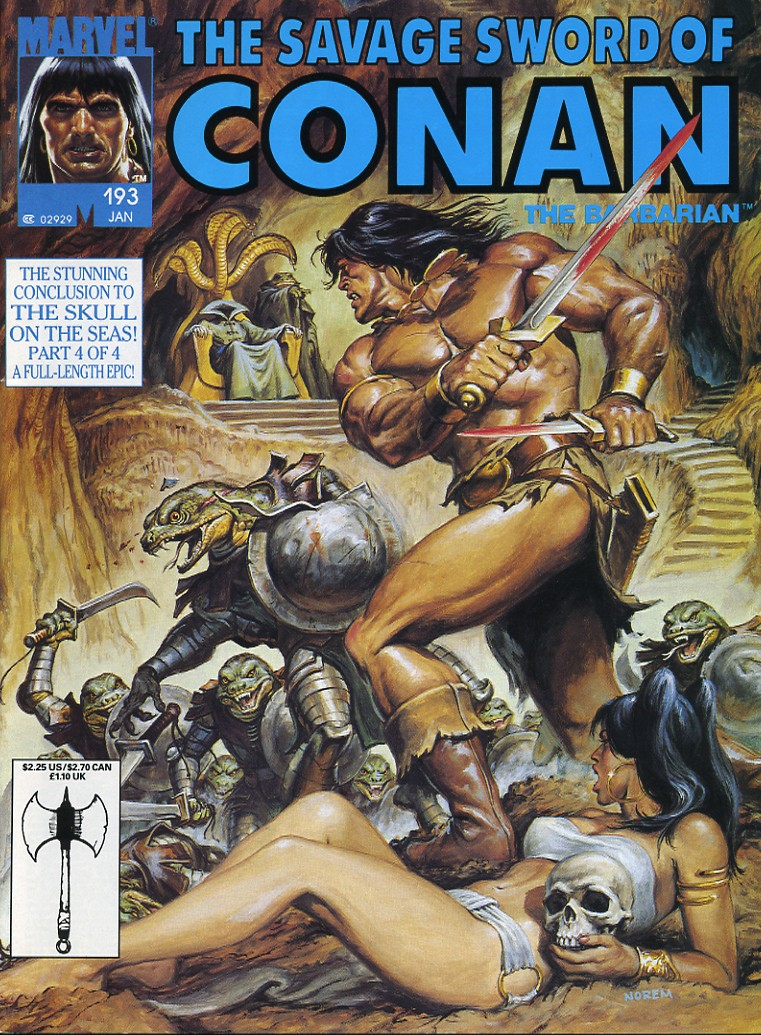 The Savage Sword Of Conan Issue #193 #194 - English 1