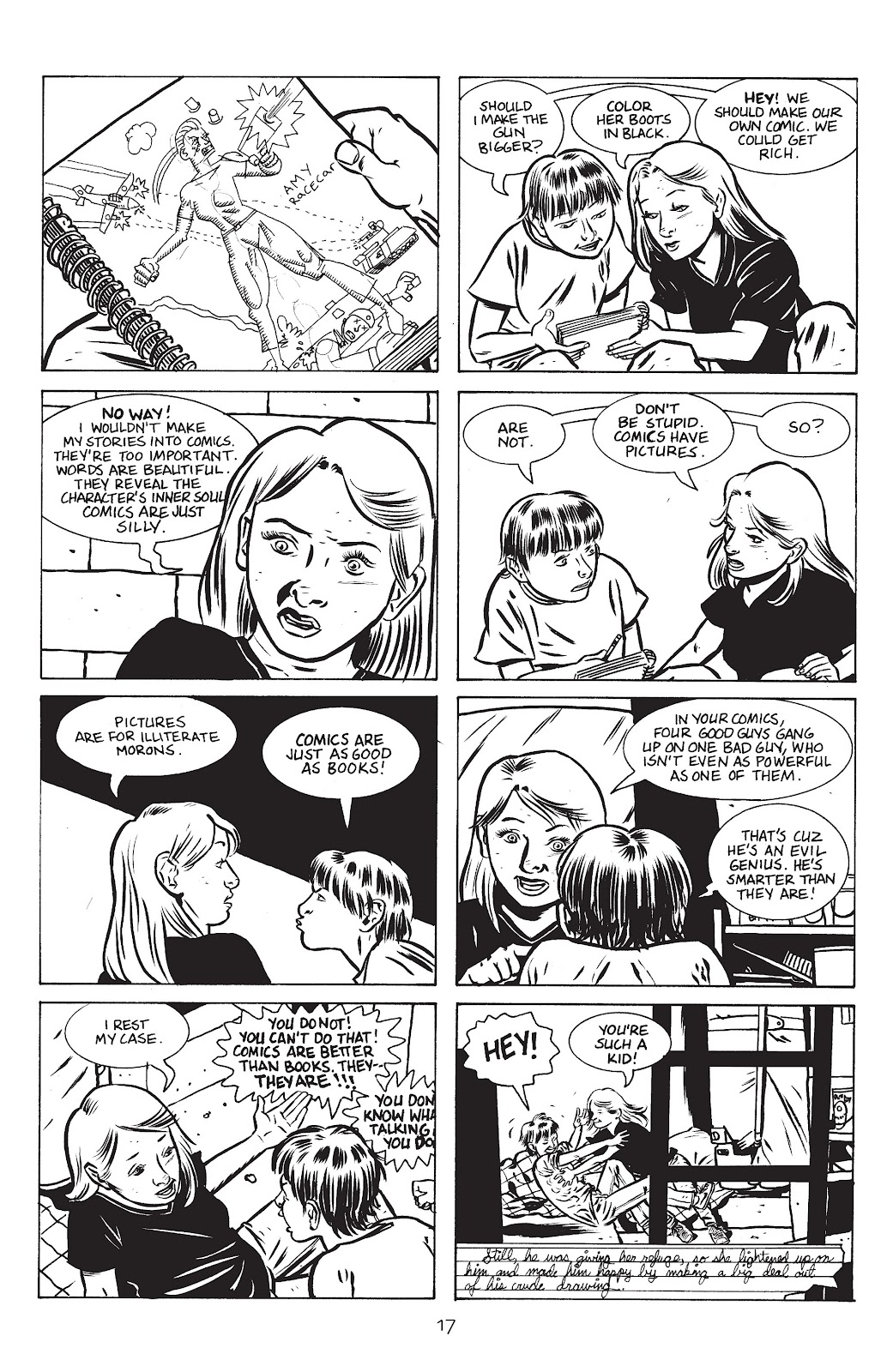 Stray Bullets Issue #15 #15 - English 19