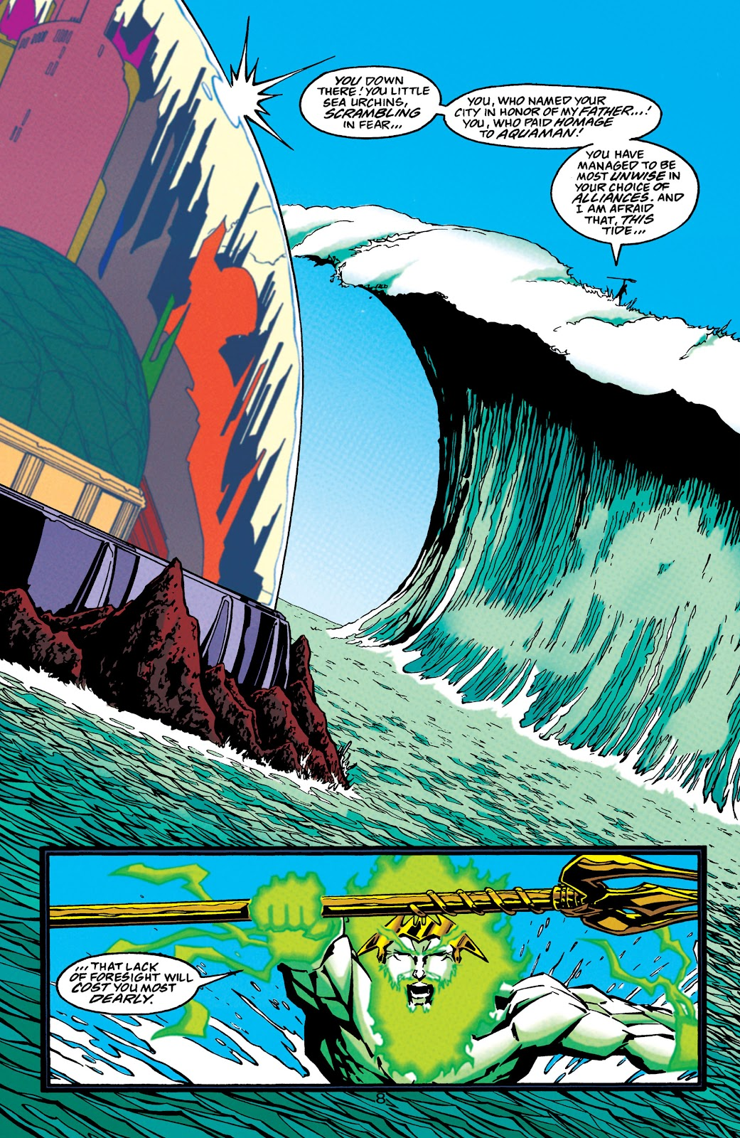 Aquaman (1994) Issue #45 #51 - English 9