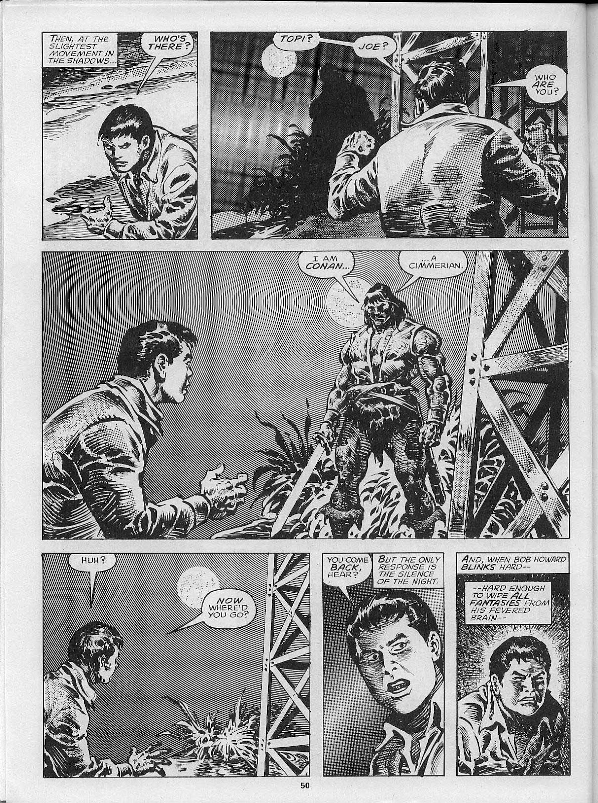 The Savage Sword Of Conan Issue #200 #201 - English 52