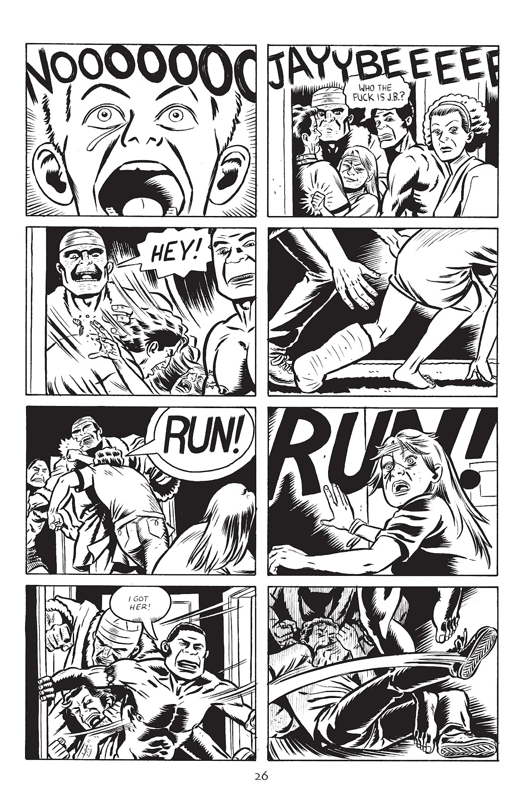 Stray Bullets Issue #28 #28 - English 28
