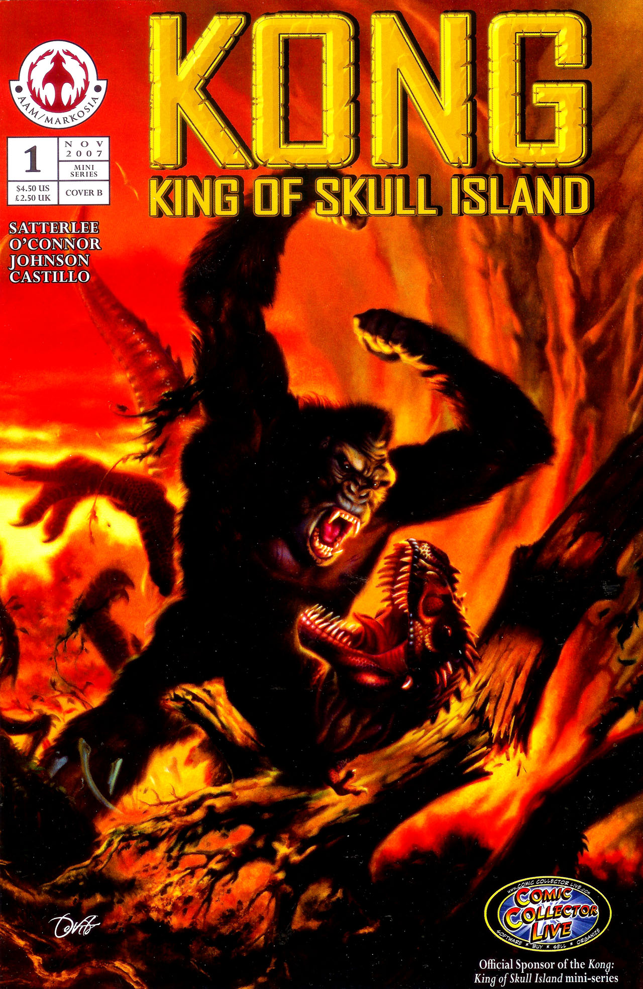 Read online Kong: King Of Skull Island comic -  Issue #1 - 2