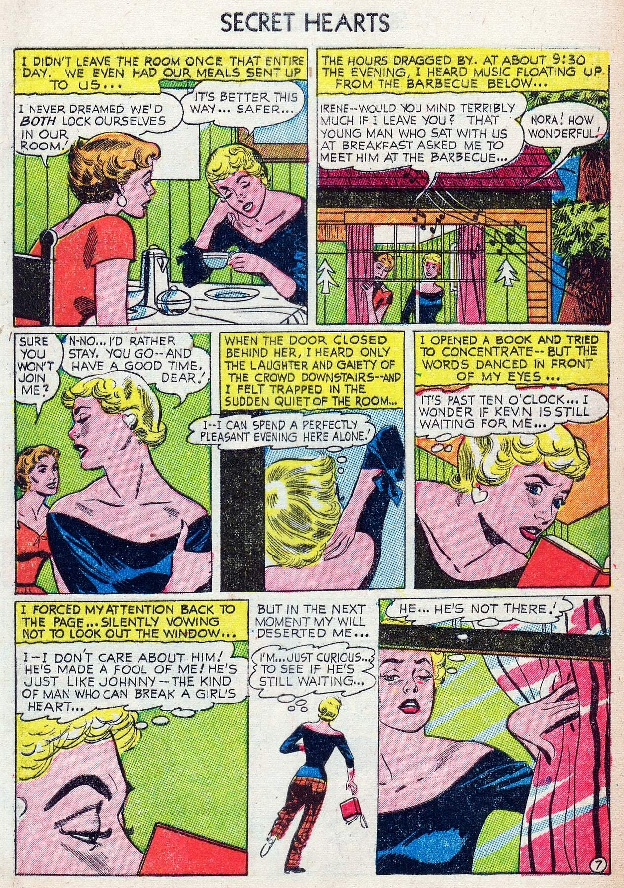 Read online Secret Hearts comic -  Issue #25 - 9