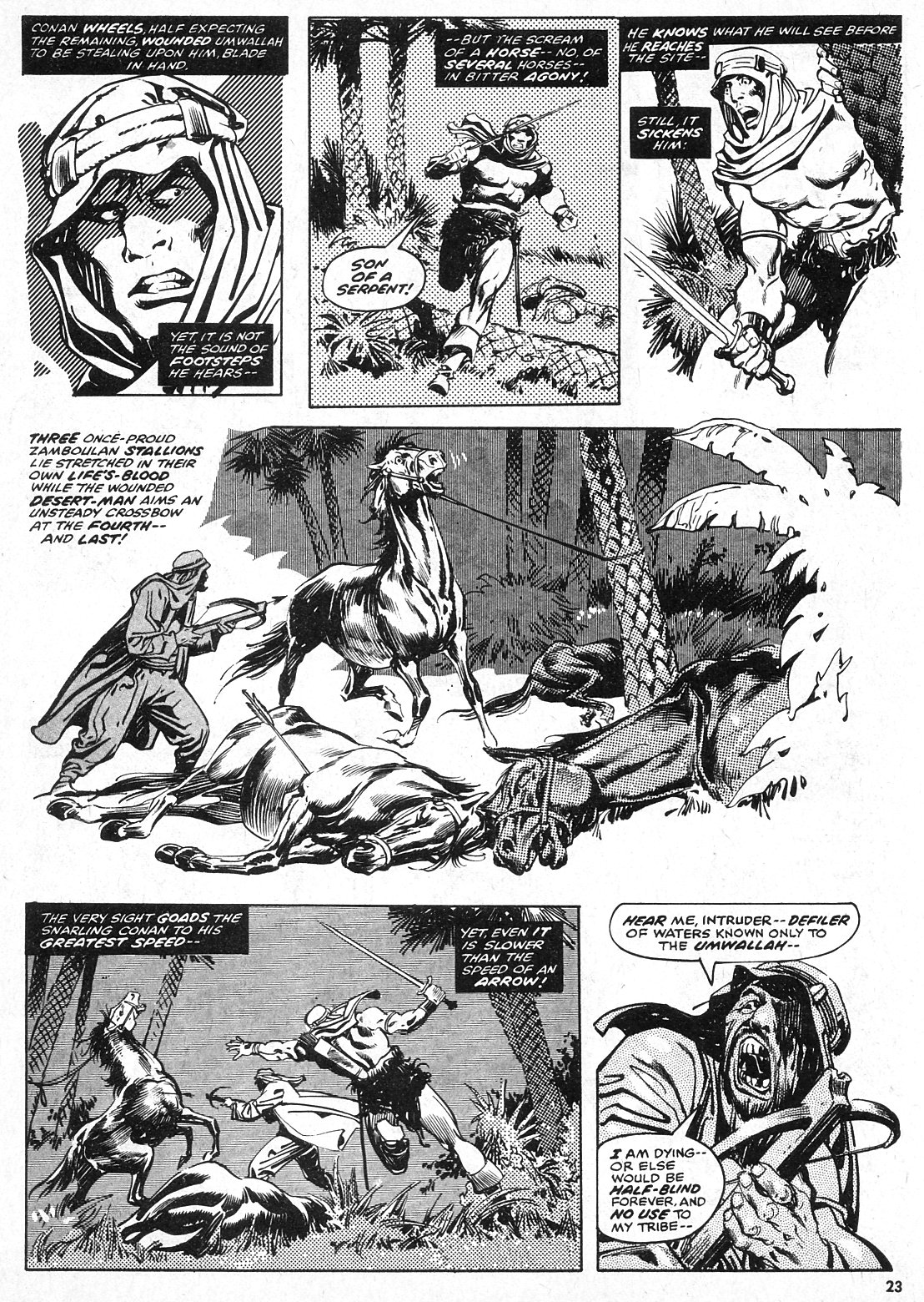 The Savage Sword Of Conan Issue #28 #29 - English 23