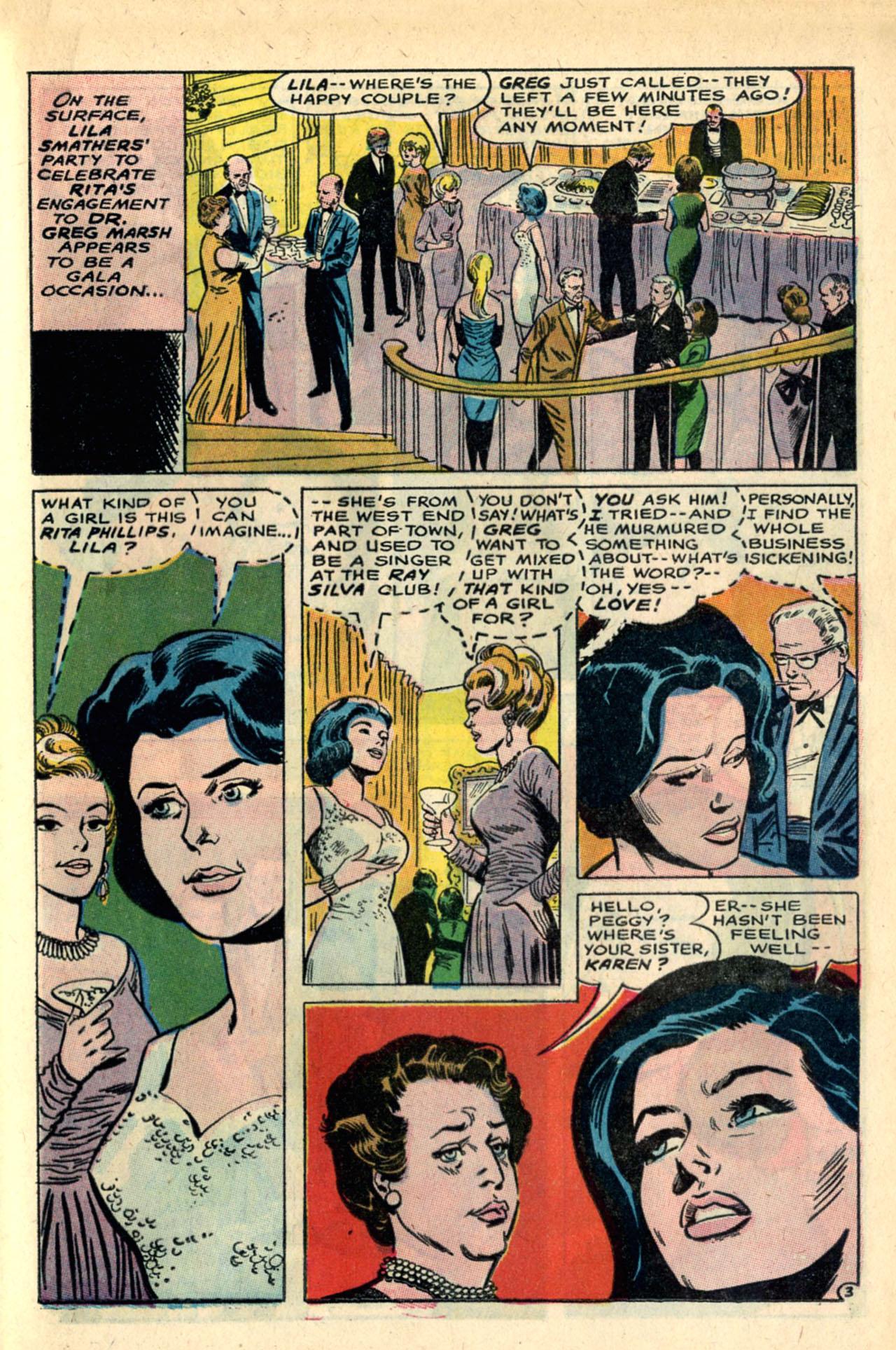 Read online Secret Hearts comic -  Issue #120 - 21