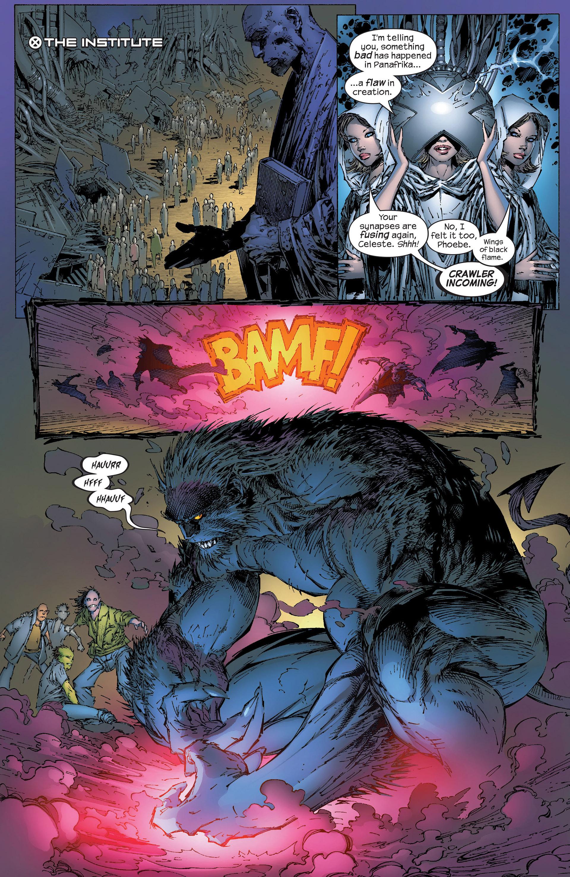 Read online New X-Men (2001) comic -  Issue #153 - 8