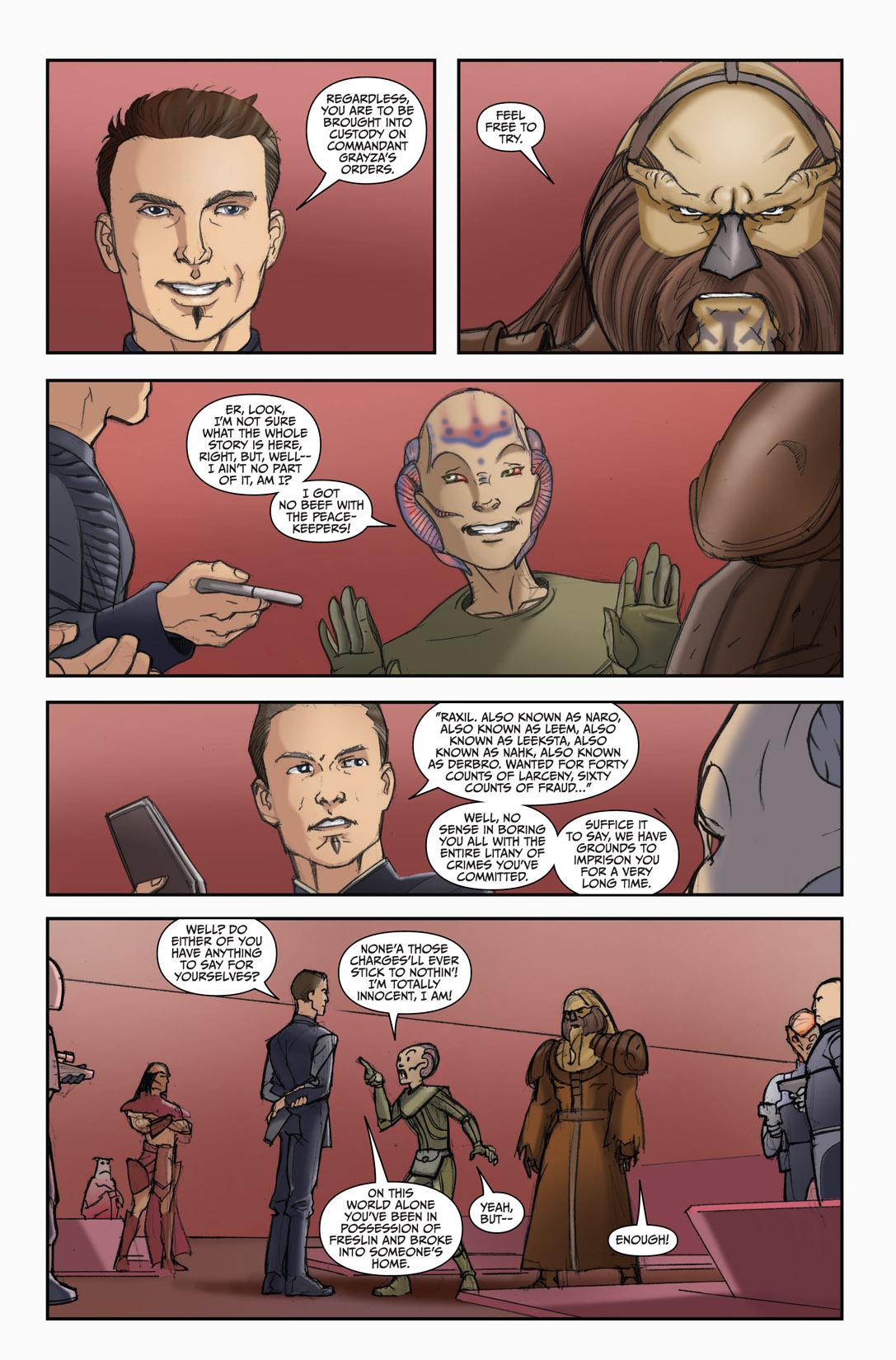 Read online Farscape: D'Argo's Quest comic -  Issue #4 - 20