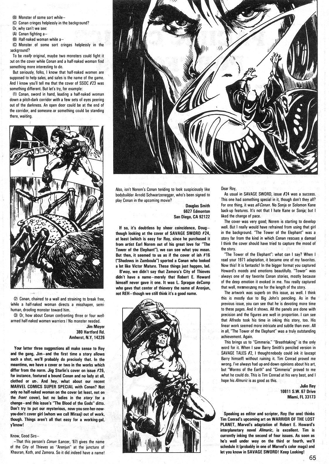 The Savage Sword Of Conan Issue #29 #30 - English 65