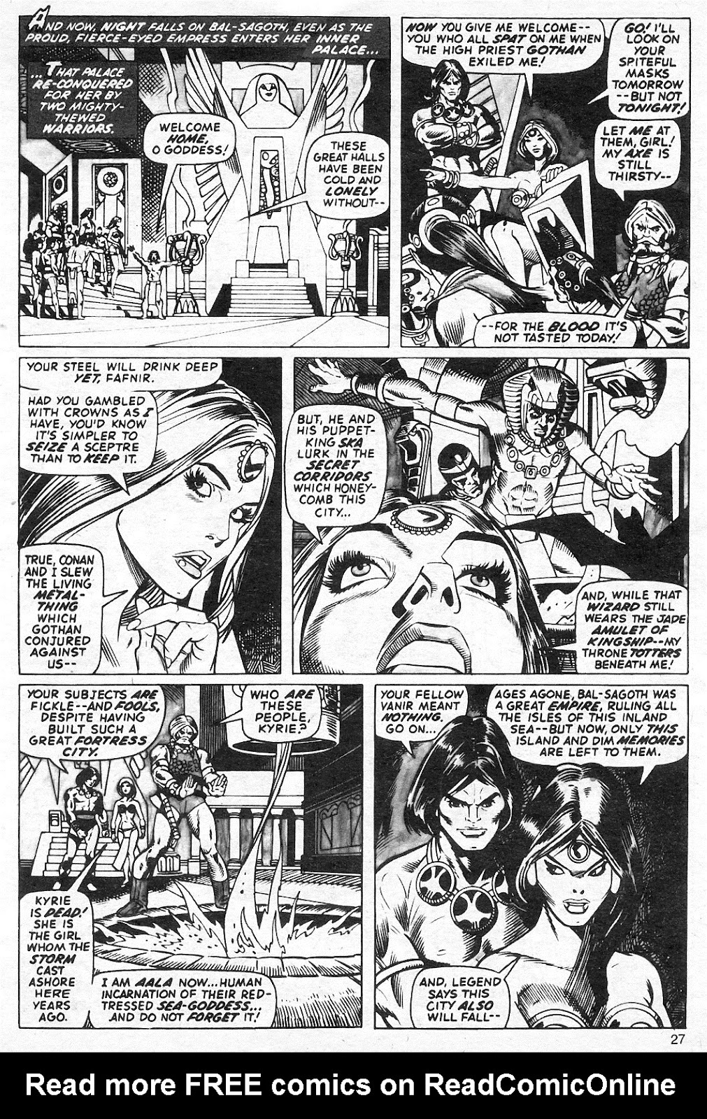 The Savage Sword Of Conan Issue #13 #14 - English 27