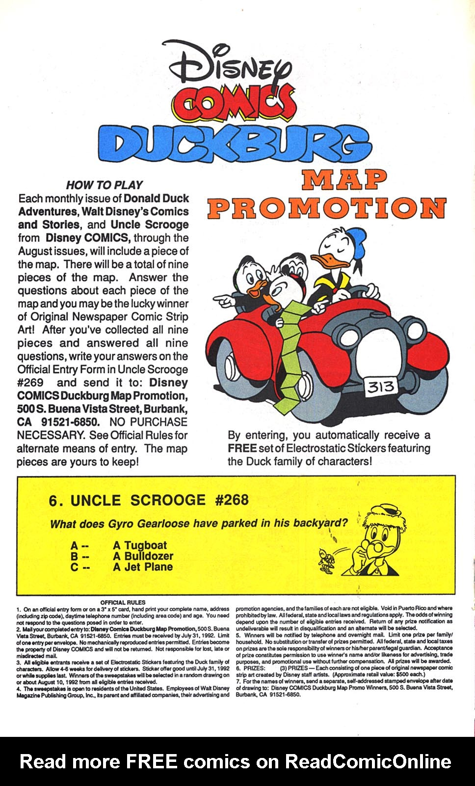 Uncle Scrooge (1953) Issue #268 #268 - English 17