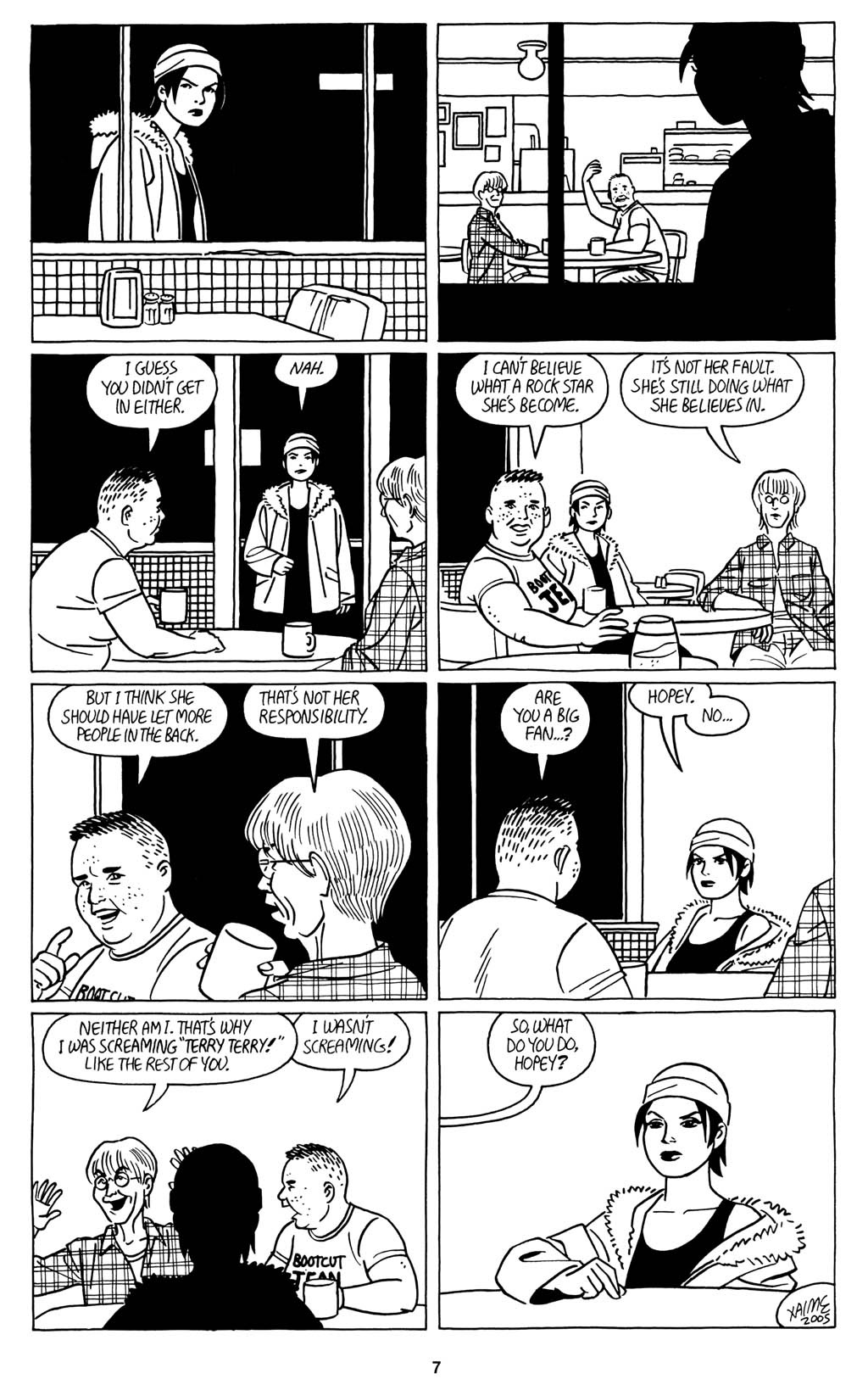 Read online Love and Rockets (2001) comic -  Issue #15 - 9