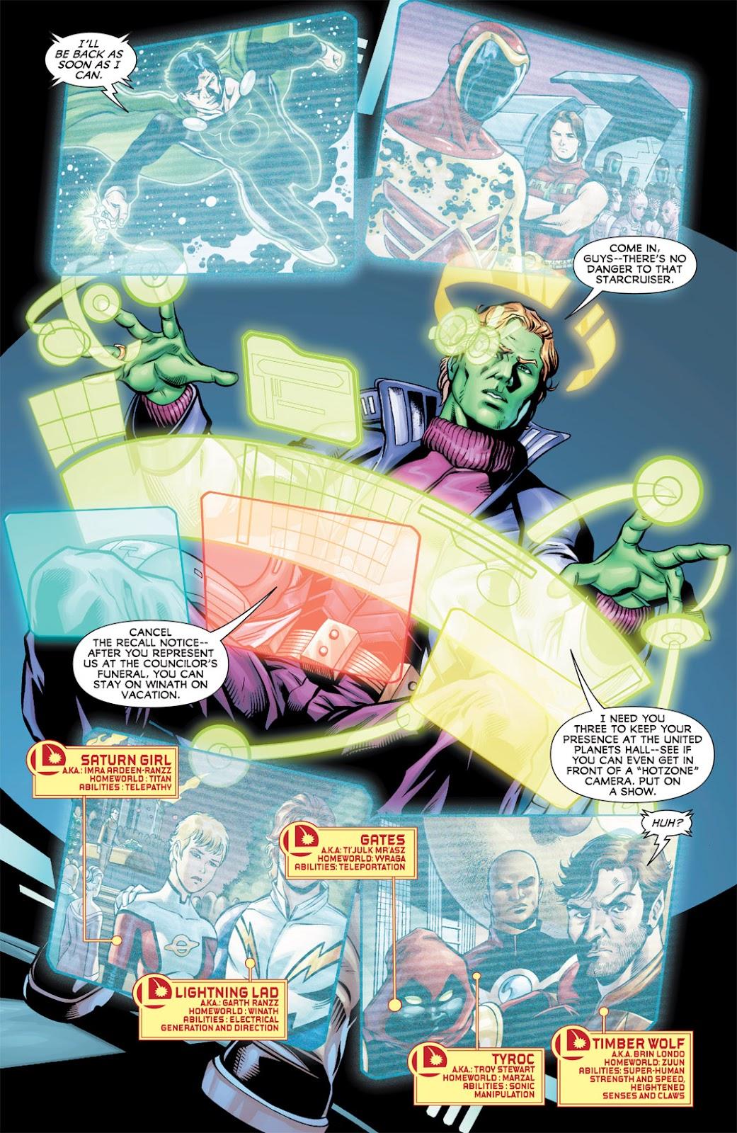 Legion of Super-Heroes (2010) Issue #10 #11 - English 7