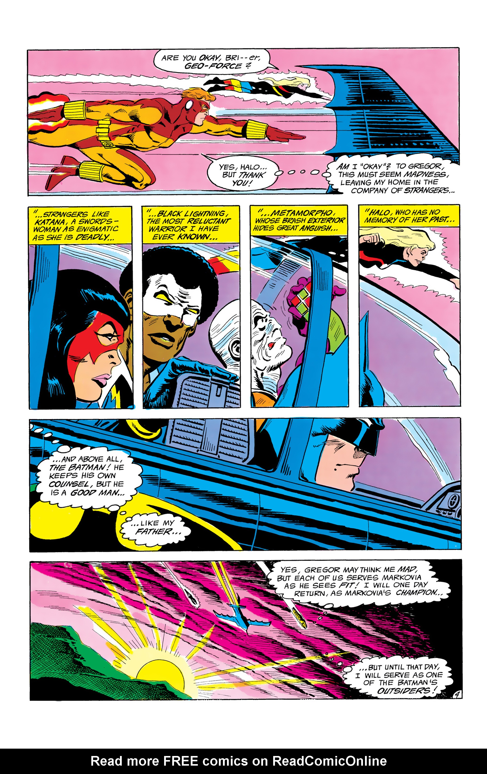 Batman and the Outsiders (1983) 3 Page 4