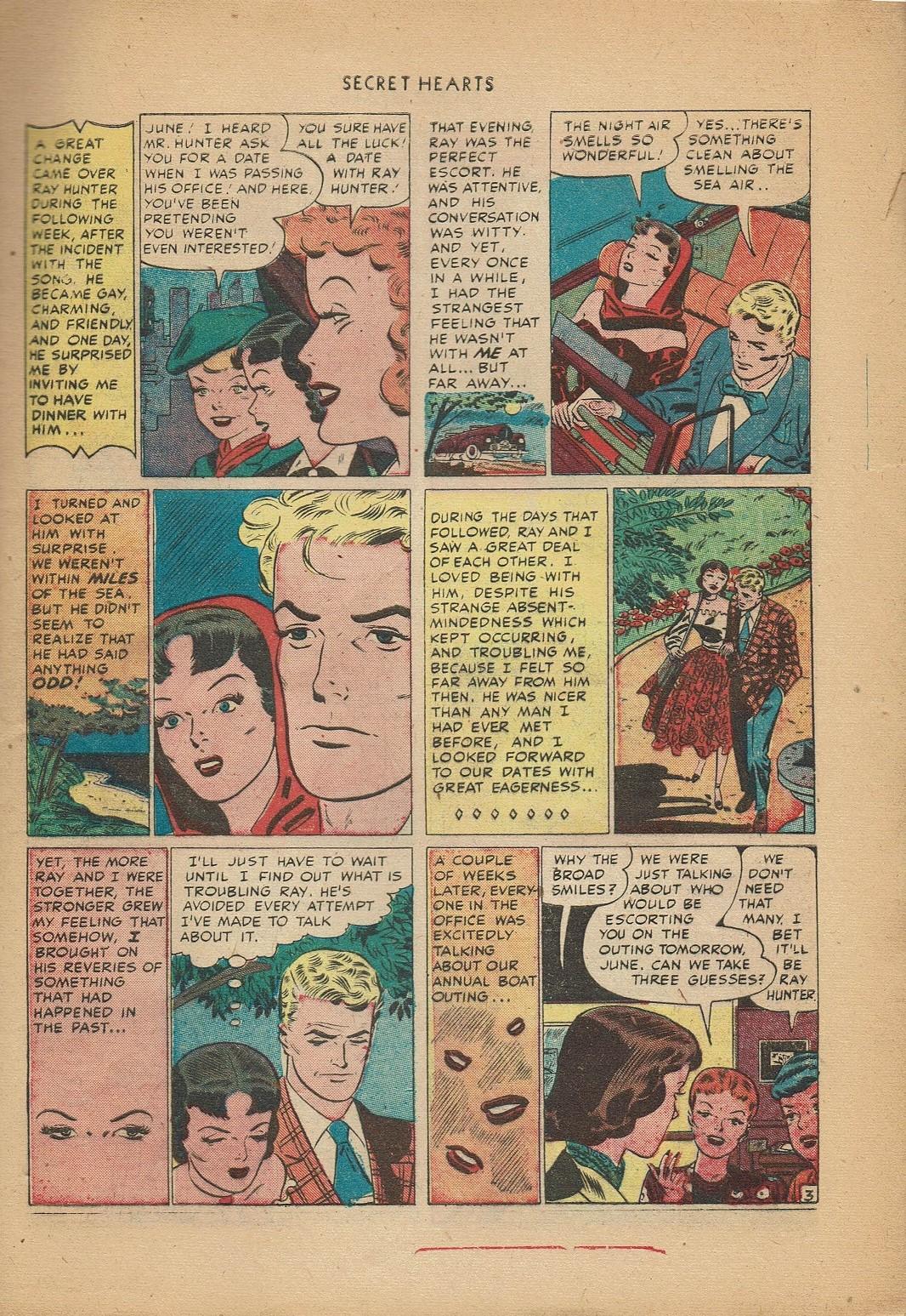 Read online Secret Hearts comic -  Issue #2 - 13