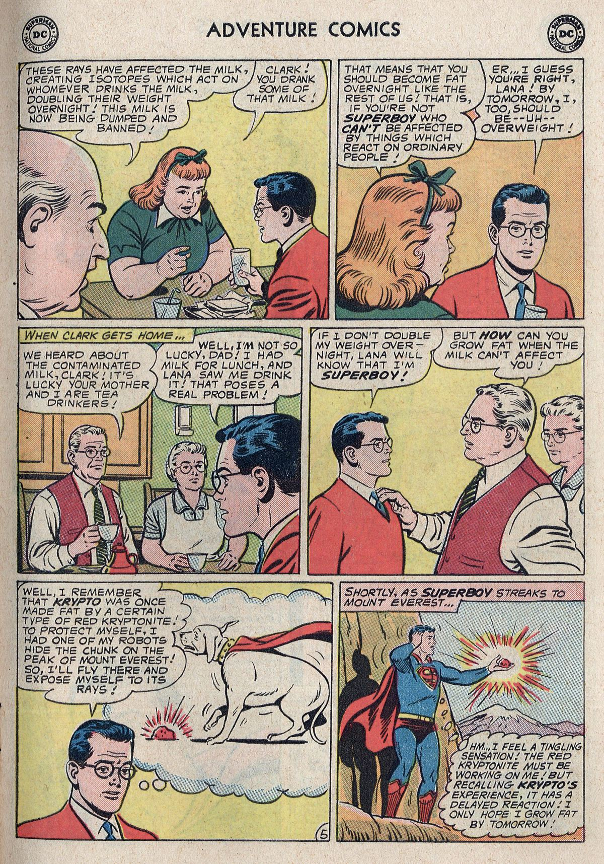 Read online Adventure Comics (1938) comic -  Issue #298 - 7