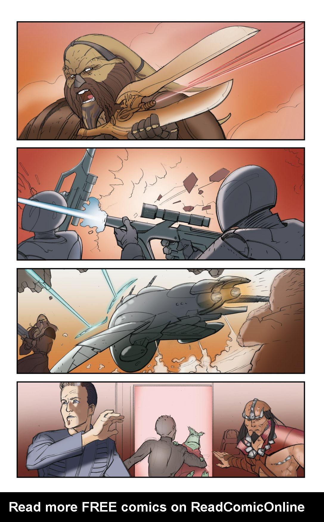 Read online Farscape: D'Argo's Quest comic -  Issue #4 - 22