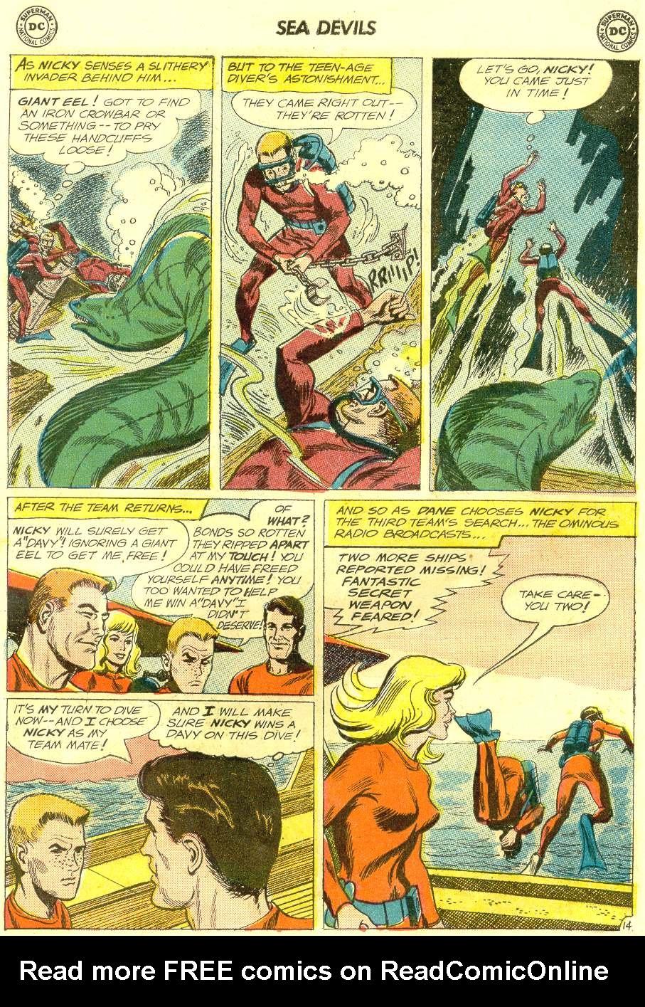 Read online Sea Devils comic -  Issue #12 - 19