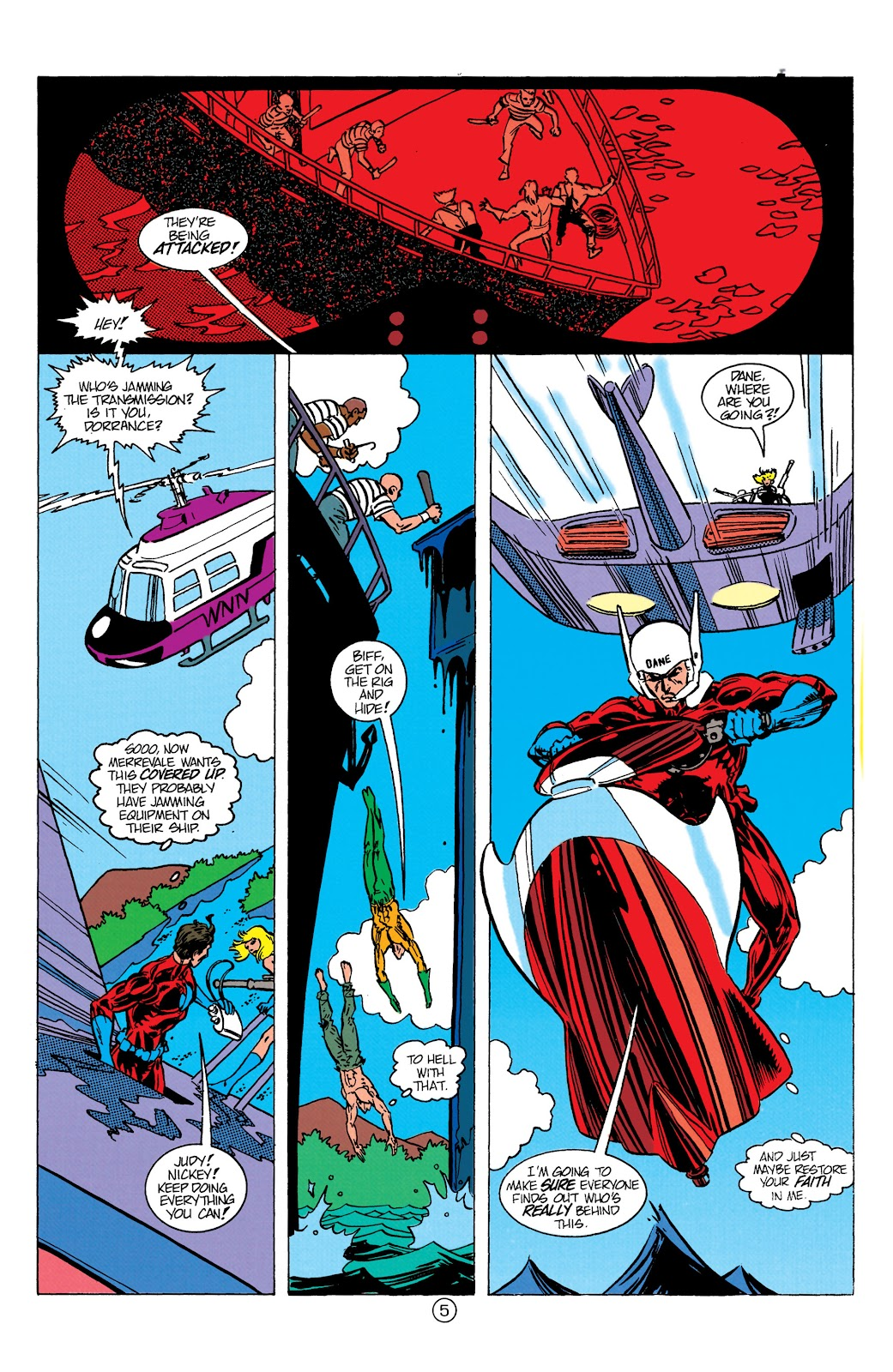Aquaman (1991) Issue #10 #10 - English 6