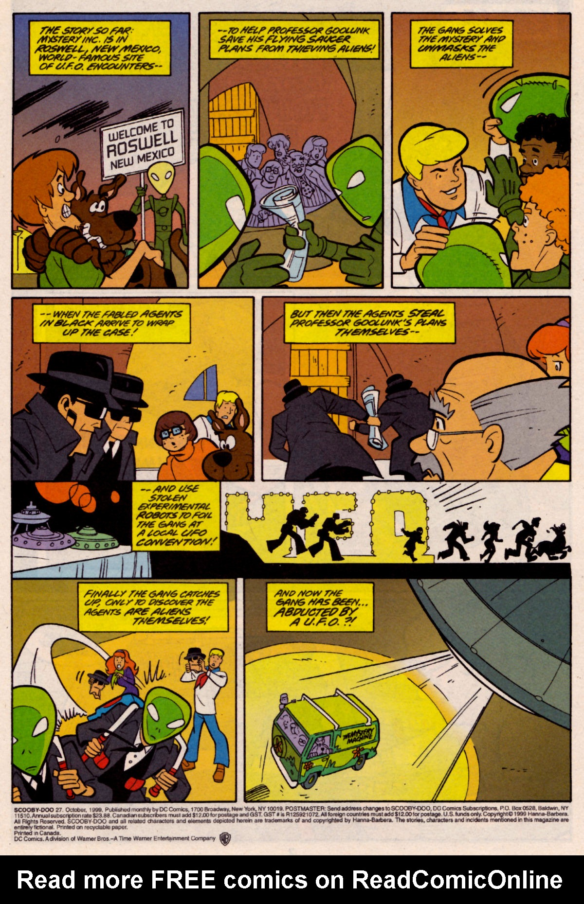 Read online Scooby-Doo (1997) comic -  Issue #27 - 2