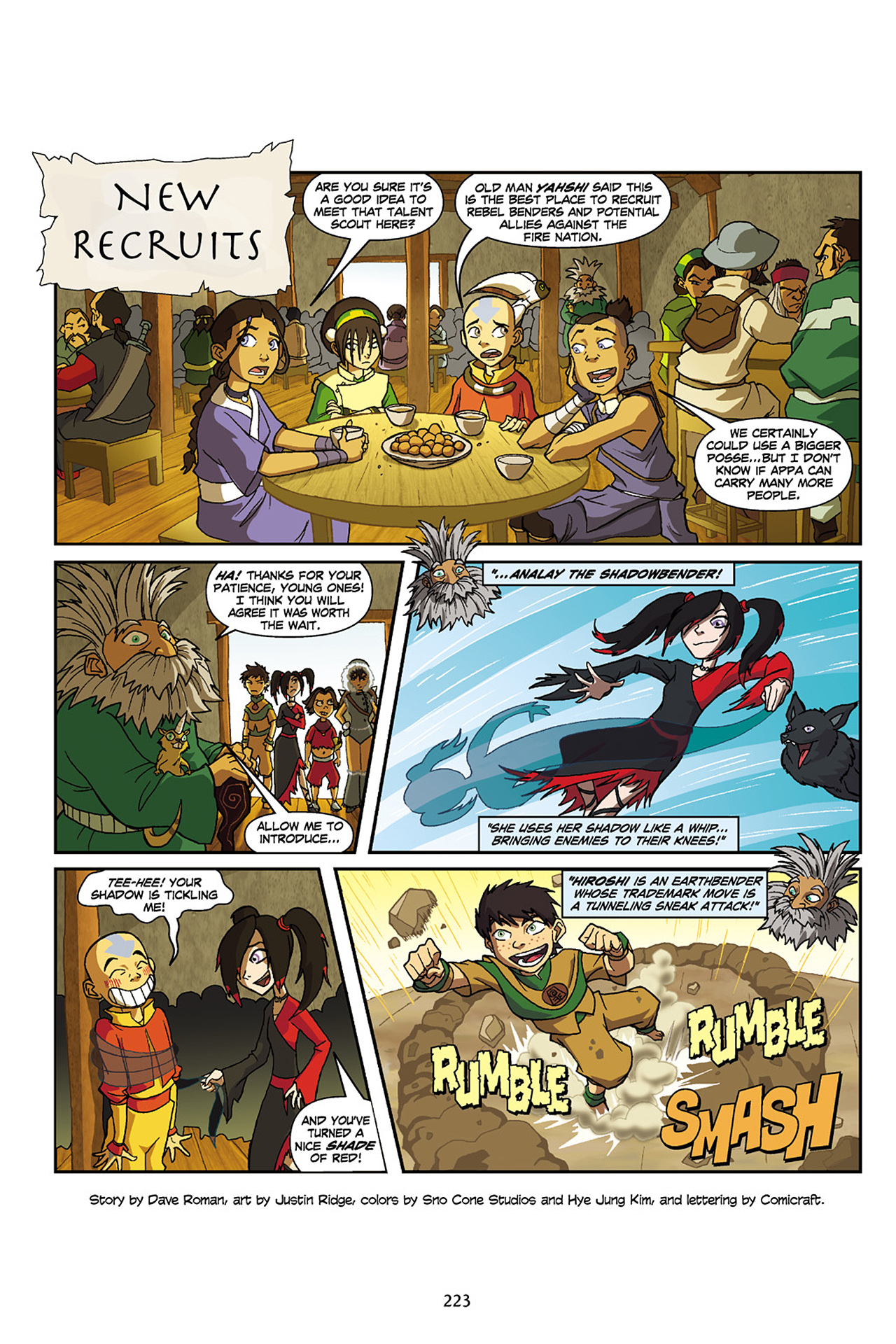 Nickelodeon Avatar: The Last Airbender - The Lost Adventures chap full pic 224
